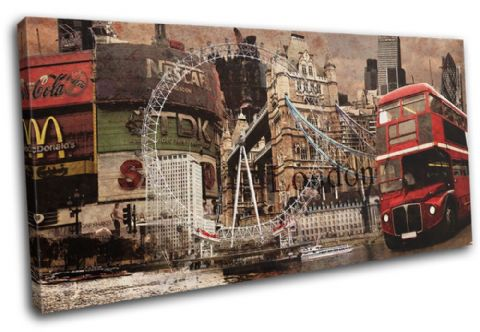 London Vintage Collage City - 13-6005(00B)-SG21-LO